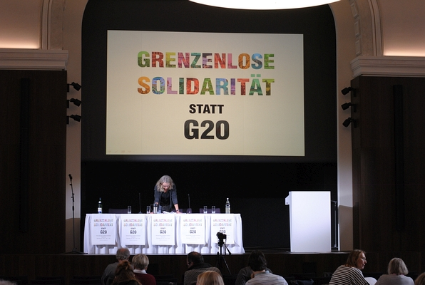 SCHATTENBLICK - BERICHT/286: G20-Resümee - Schranken bis zum Kessel ...