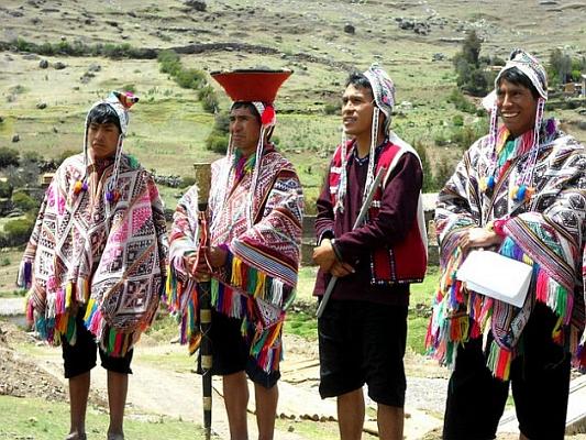 quechua indianer